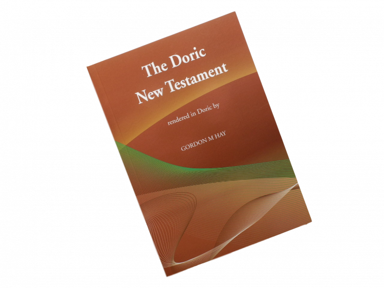 scottish scots doric language book bible new testament