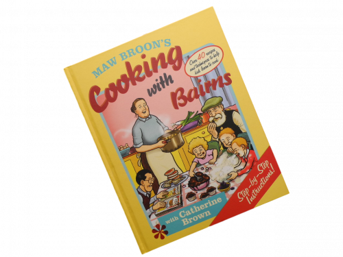book maw broon's cooking with bairns catherine brown