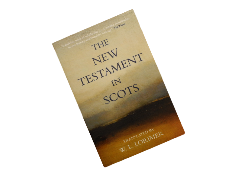 book the new testament in scots language william laughton lorimer