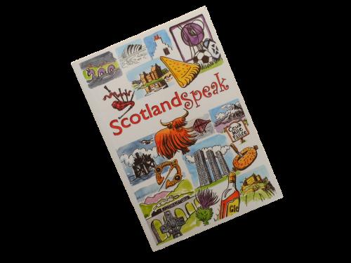 scottish scots language book Scotland Speak humorous funny