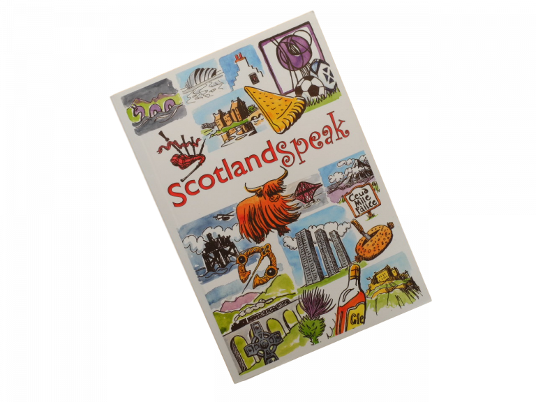 scottish book Scotland Speak humorous funny