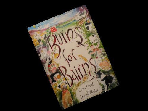 scottish scots language poetry book for children burns for bairns