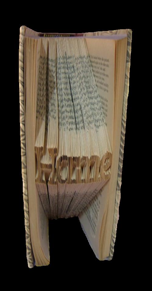 book art sculpture book folding hame
