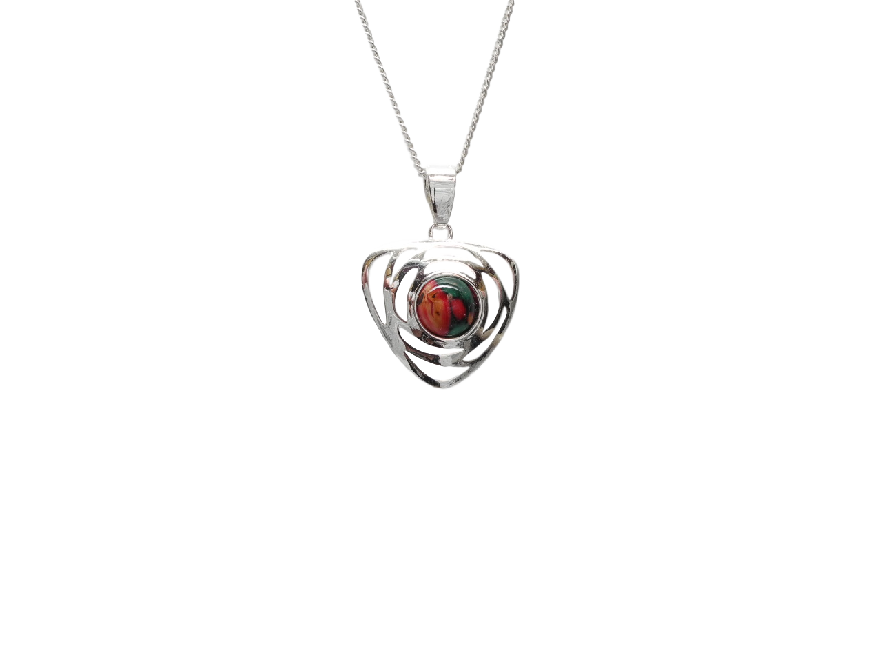 scottish pendant necklace heathergem comrie