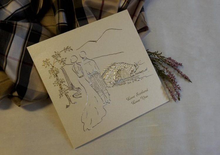 scottish wedding invitations stationery love scotland love you
