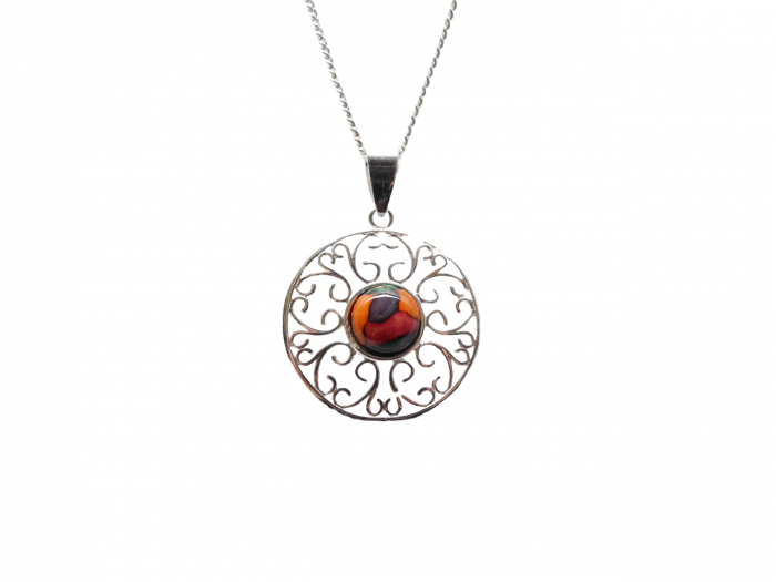 scottish pendant necklace heathergem ochil
