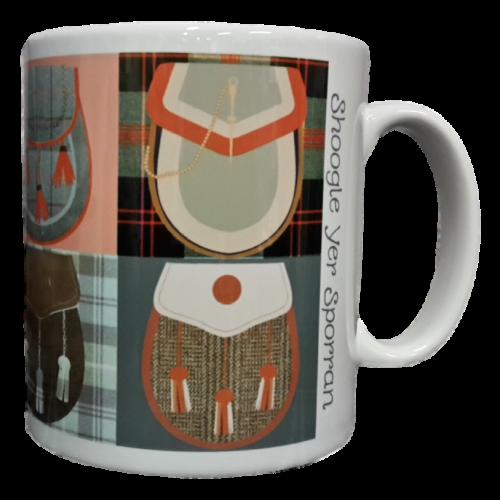 scottish mug tartan sporrans scots language