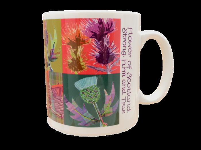 scottish mug thistles flower of scotland