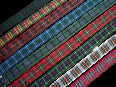 scottish scots language tartan ceramic wedding horseshoe lang may yer lum reek