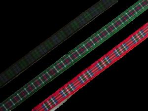 """scottish tartan ribbon 7mm 1/4"""" wide"""