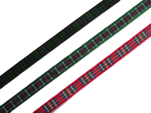 scottish black watch mackenzie royal stewart tartan ribbon 7mm