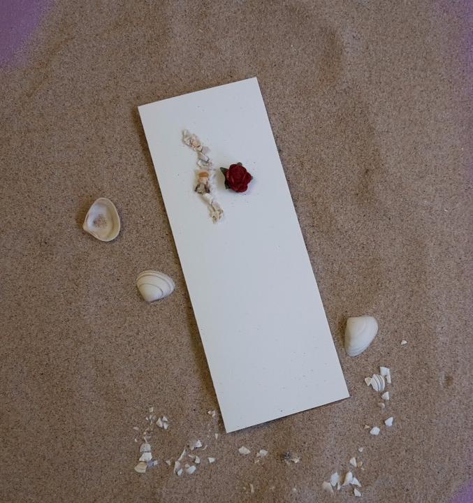 scottish hand made wedding invitations stationery red rose
