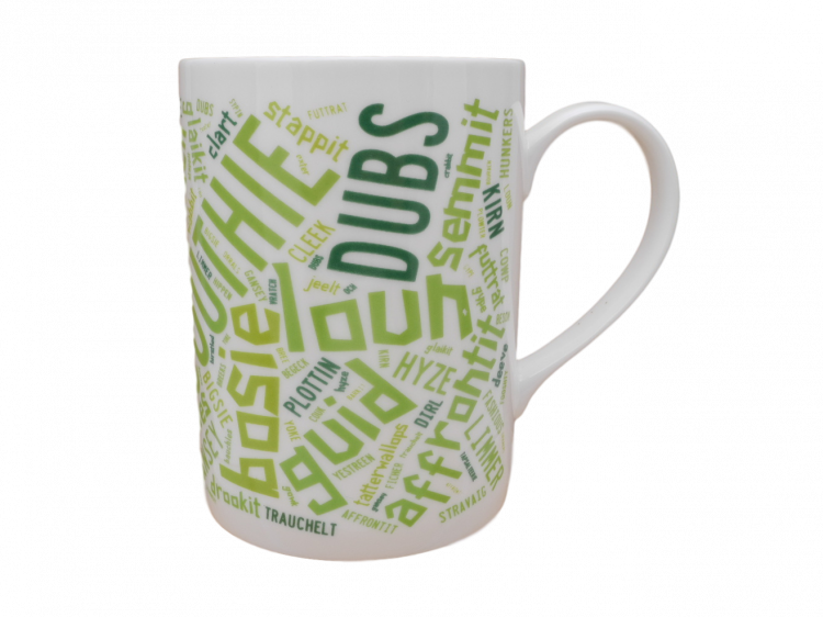 scottish mug scots language doric words