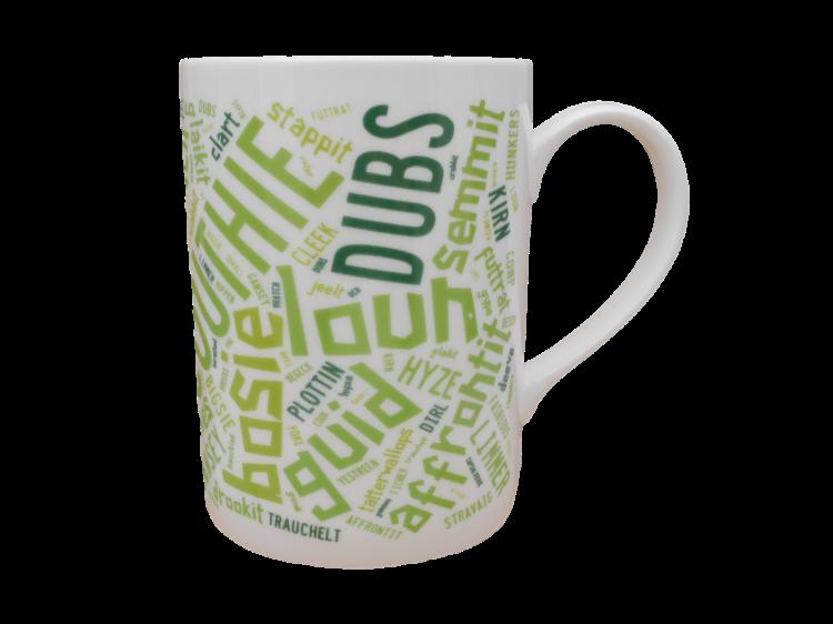 scottish mug scots language doric words