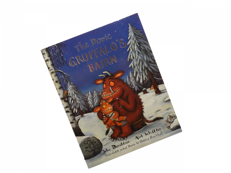scottish book for children the doric gruffalo's bairn julia donaldson