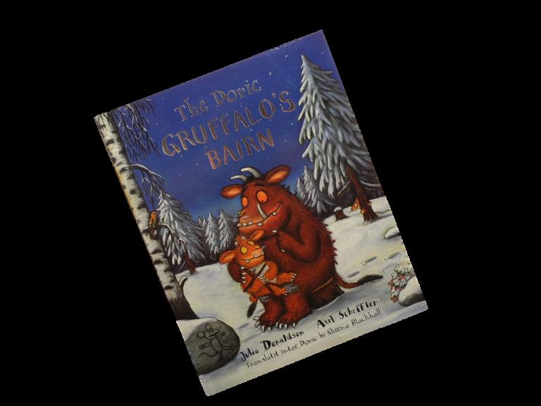 scottish book for children the doric gruffalo's bairn julia donaldson