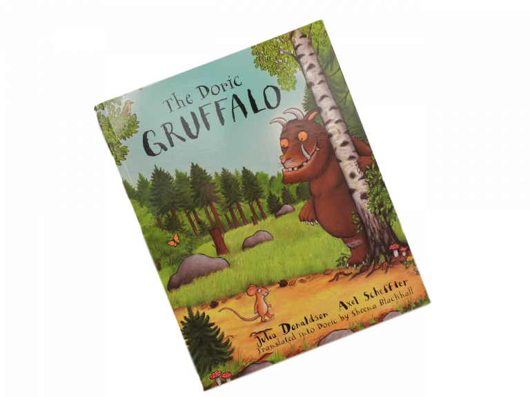 scottish book for children the doric gruffalo julia donaldson
