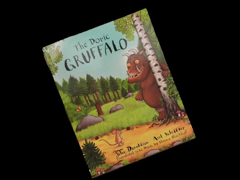 scottish book for children the doric gruffalo julia donaldson