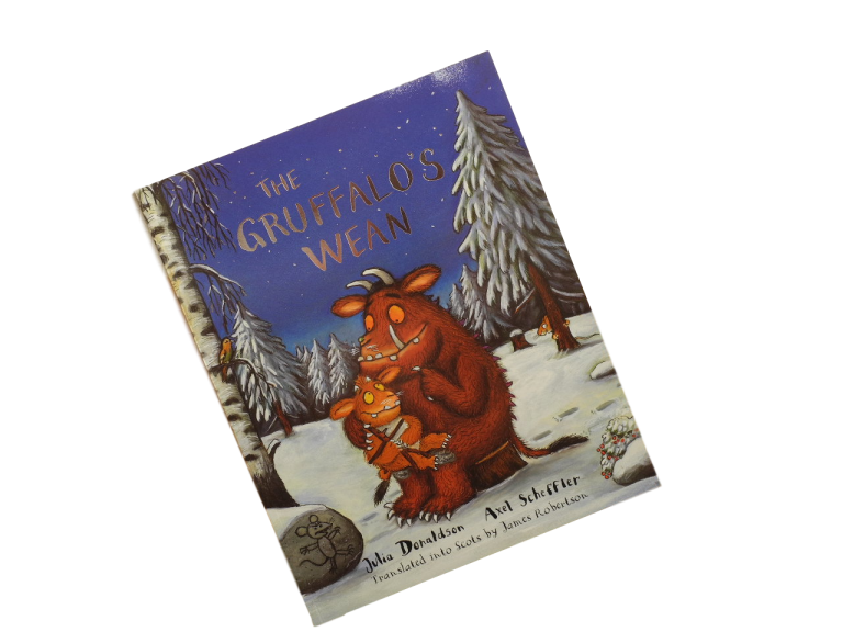 scottish book for children the gruffalo's wean julia donaldson