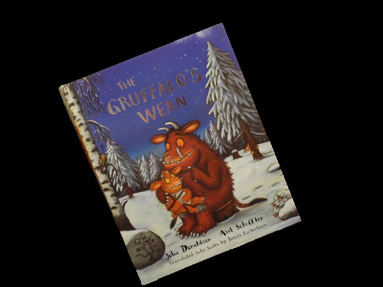 scottish book for children the gruffalo's wean julia donaldson
