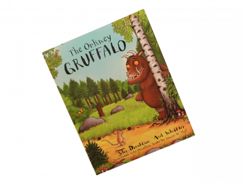 scottish scots orcadian language book for children the orkney gruffalo