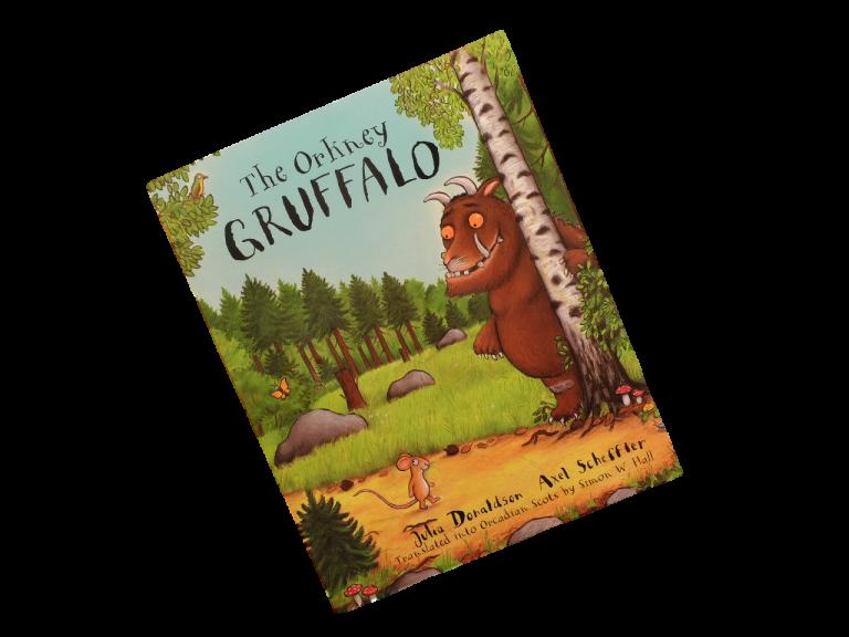 scottish book for children the orkney gruffalo julia donaldson
