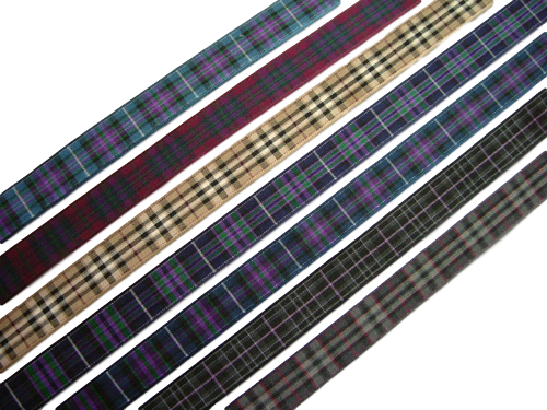 scottish ceramic wedding horseshoe tartan ribbon lang may yer lum reek