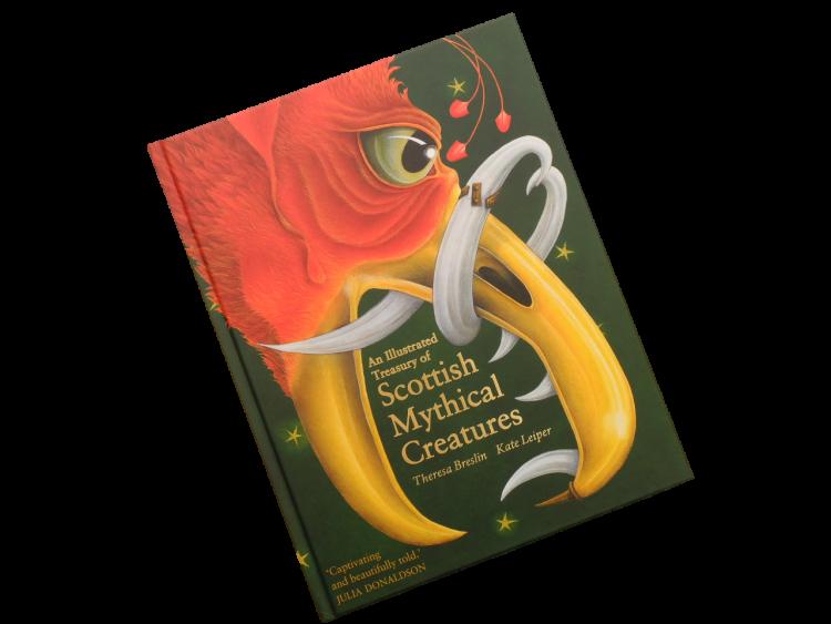 scottish book for children scottish mythical creatures