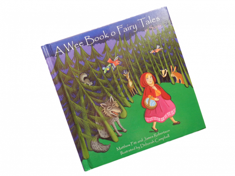 scottish scots language book for children wee book o fairy tales