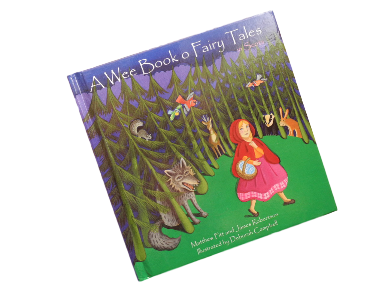 scottish book for children wee book of fairy tales scots language