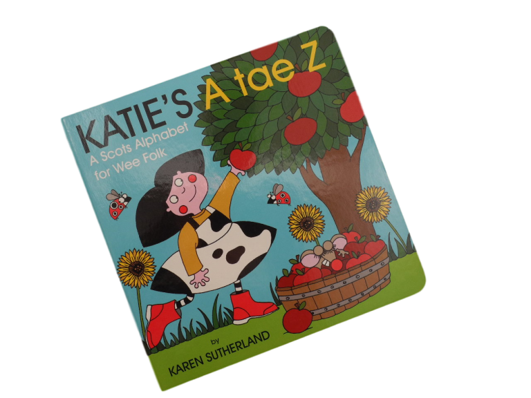 scottish book for children katies a to z scots language matthew fitt james robertson