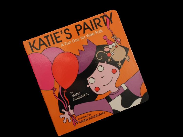 scottish scots language book for children katie's pairtie
