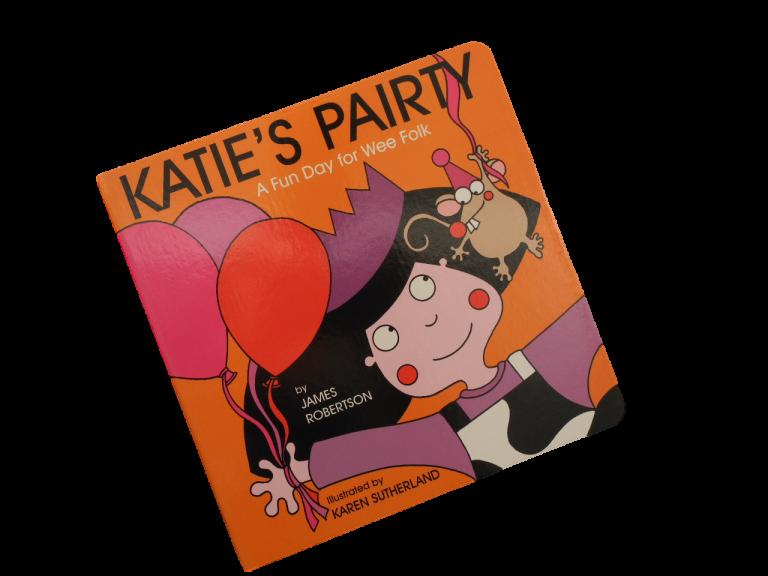 scottish book for children katies party pairty scots language james robertson matthew fitt