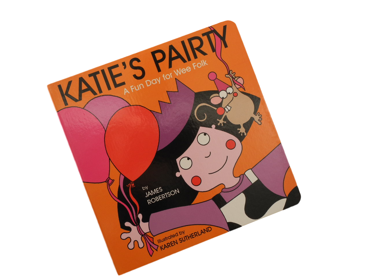 scottish book for children katies party pairty scots language james robertson matthew fitt