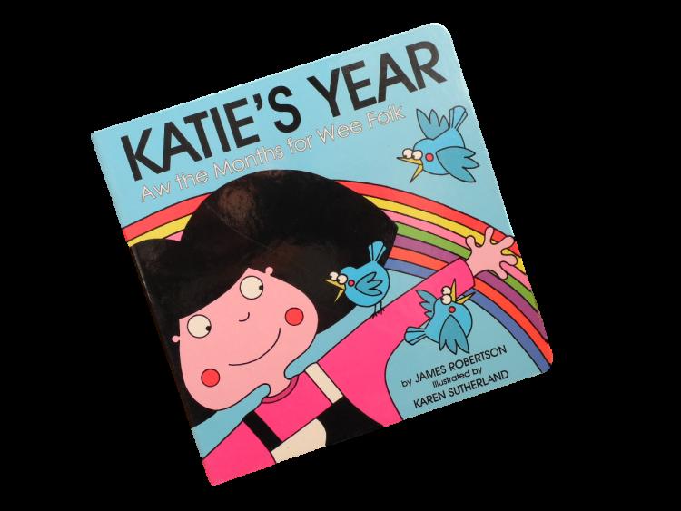 scottish scots language book for children katie's year