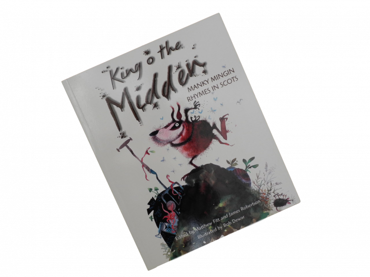 scottish scots language book for children king o the midden