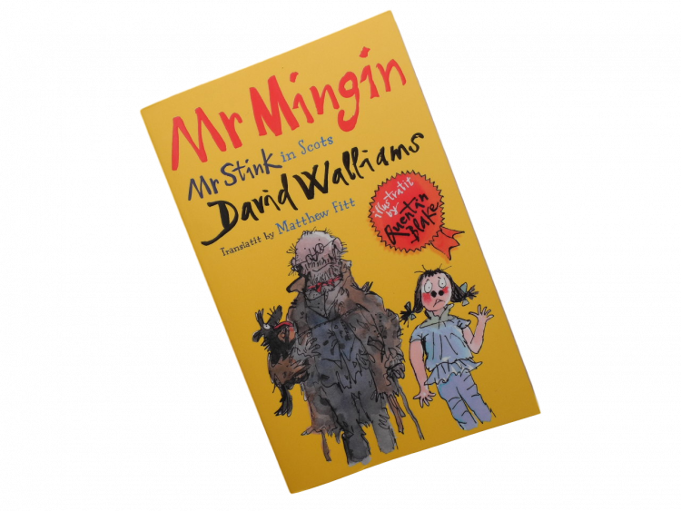 scottish scots language book for children mr mingin stink
