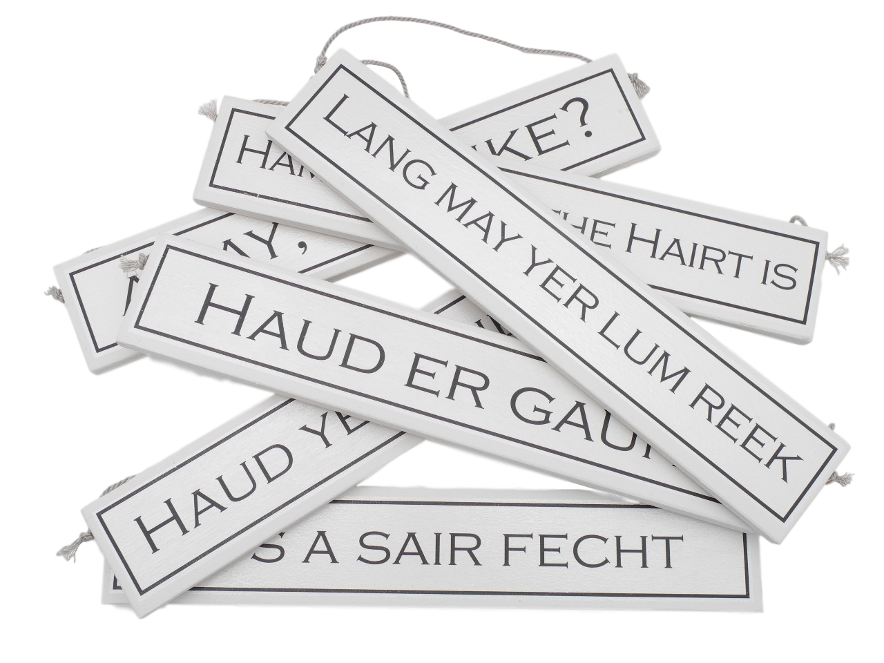scottish doric sayings expressions scots language gift plaque