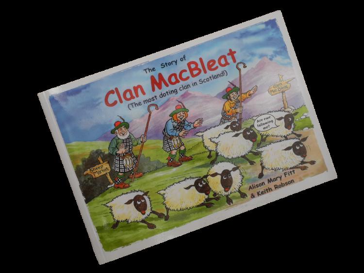 scottish scots language book for children clan macbleat