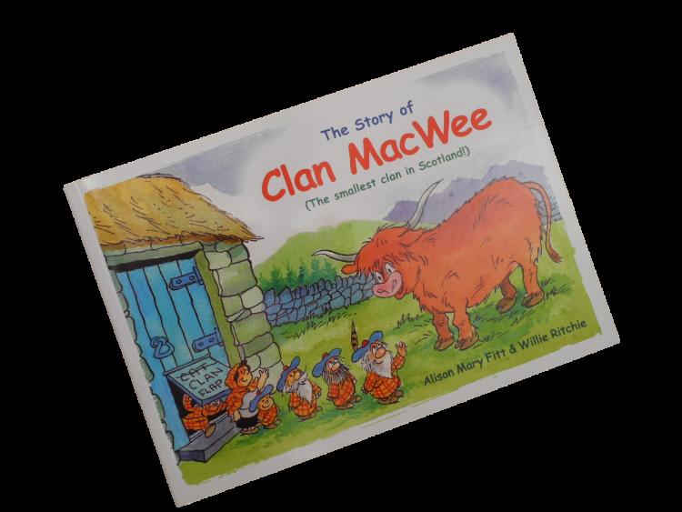 scottish scots language book for children clan macwee