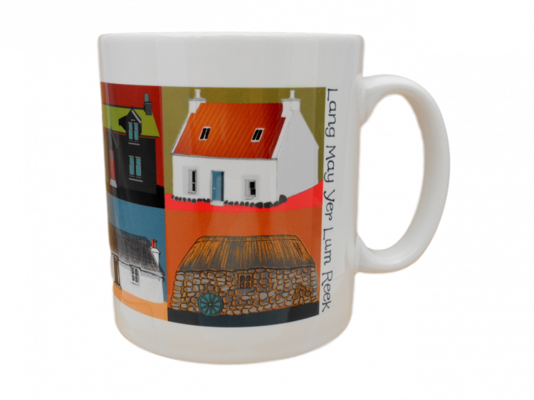 scottish mug crofts houses scots language