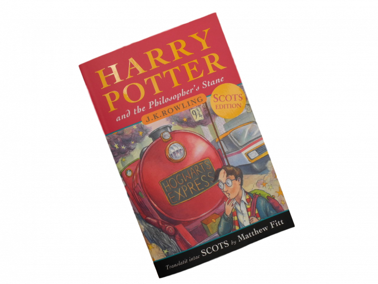 scottish scots language book for children harry potter and the philosopher's stane