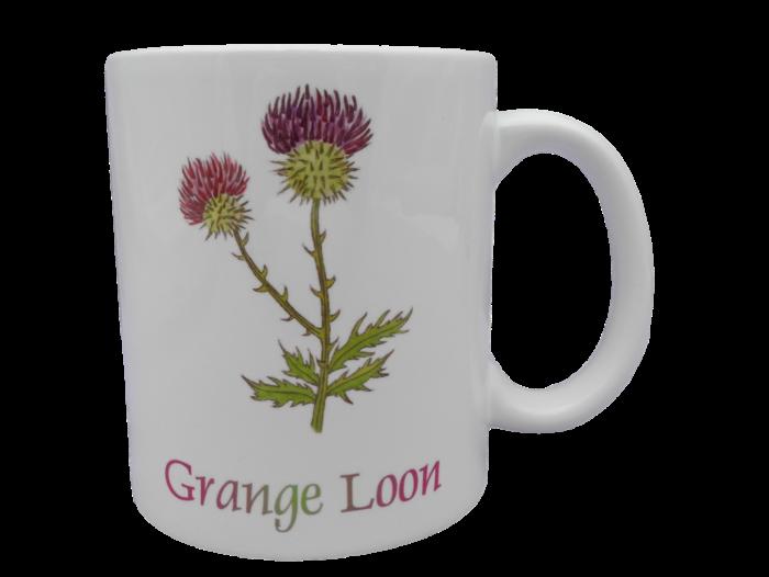 Scottish mug thistle scots language doric grange loon