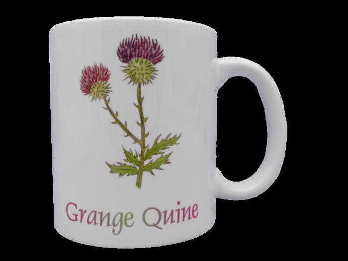 Scottish mug thistle scots language doric grange quine