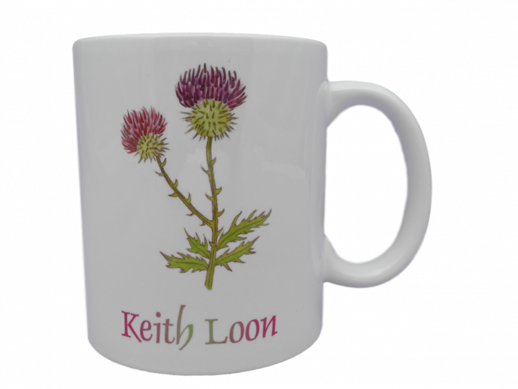 Scottish mug thistle scots language doric Keith loon