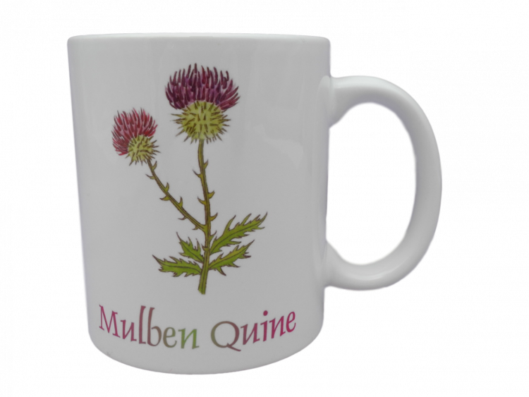 Scottish mug thistle scots language doric mulben quine