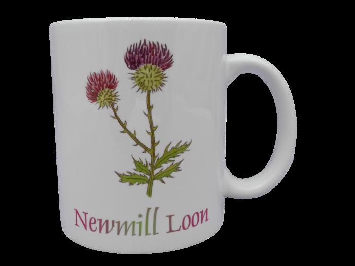 Scottish mug thistle scots language doric Newmill loon