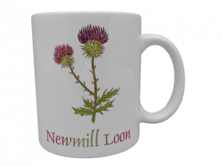 Scottish mug thistle scots language doric Newmill loon