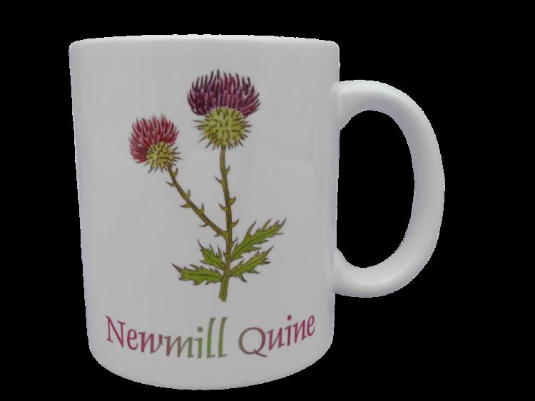 Scottish mug thistle scots language doric Newmill quine