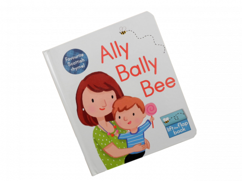 scottish scots language book for children ally bally bee